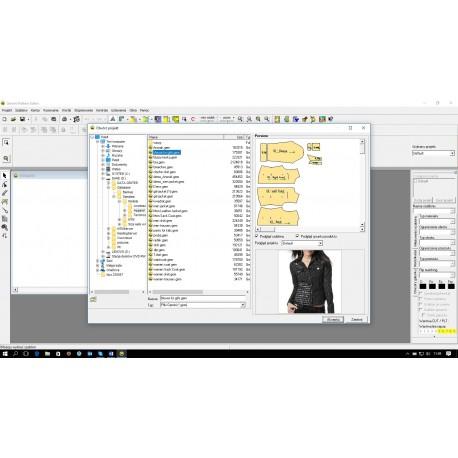GEMINI CAD program do konstrukcji odzieży oraz innych wyrobów tekstylnych