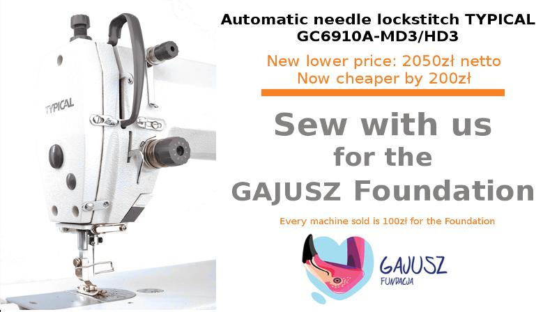Sew with us for the GAJUSZ Foundation