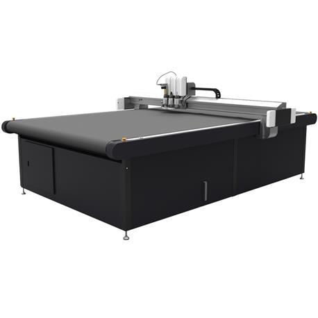 Automatyczna krojownia BK3-2513 - jednowarstwowy kater o powierzchni cięcia