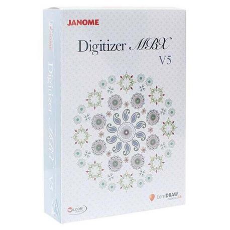 JANOME DIGITIZER MBX UPGRADE uaktualnienie oprogramowania MBX