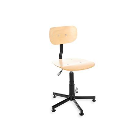 Krzesło obrotowe Black 02-sklejka (atest)