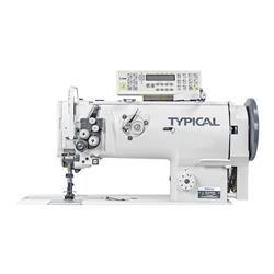TYPICAL GC20666-D2T3 automatyczna stębnówka z potrójnym transportem