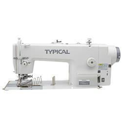 TYPICAL GC6717MD-B10 stębnówka z transportem ząbkowym, odkrawaczem. lamowaniem i napędem direct-drive