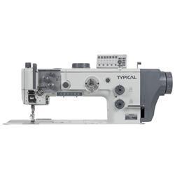 TYPICAL TW2-999-L14-D2T5 automatyczna dwuigłowa stębnówka z dużym chwytaczem