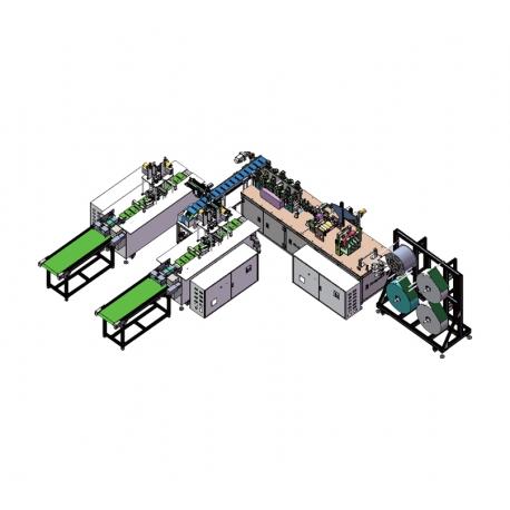 ULTIMA UL-NF28 - Linia do produkcji chirurgicznych masek ochronnych