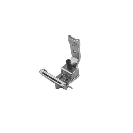 212-005A_4.8mm Stopka z prowadnikem taśmy do maszyn dwuigłowych 4,8mm