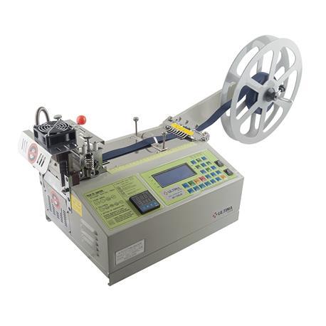 ULTIMA SF-120LR do cięcia taśmy, rzepów, gumy i etykiet na gorąco i na zimno