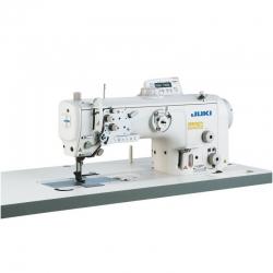 JUKI LU2810-7 1-needle lockstitch machine with flat bed and unison-feed,