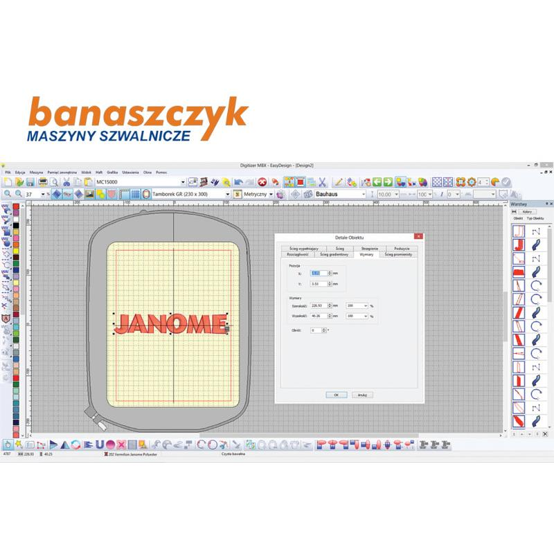 Janome Digitizer mbx