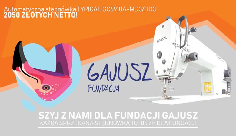 Szyj z nami dla Fundacji GAJUSZ