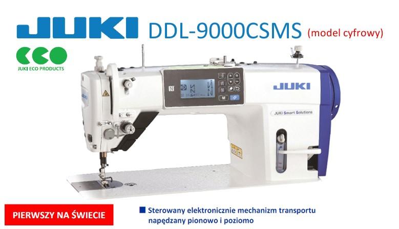JUKI DDL 9000CSMS cyfrowa stębnówka z napędem direct-drive